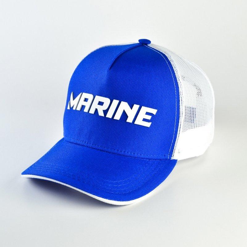 BONÉ MARINE AZUL E BRANCO Marine Sports