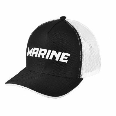 BONÉ MARINE PRETO E BRANCO Marine Sports